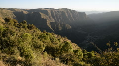 Simien Mountains National Park, UNESCO World Heritage Site, Amhara region, Ethio Stock Footage