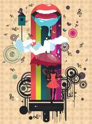 Surreal Fairy Stock Illustration