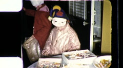 Kids with Candy Children Halloween Costumes 1960s Vintage Film Home Movie 9482 Arkistovideo