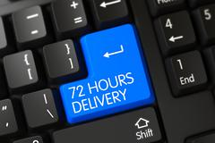PC Button - 72 Hours Delivery - stock illustration