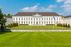 Berlin: Bellevue Palace. Stock Photos