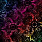 Colorful attractive wallpaper abstract - stock illustration