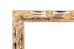 Antiques wooden frame - stock photo