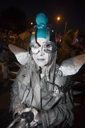 TUCSON, AZ/USA - NOVEMBER 09, 2014: performer at the All Souls Procession on Nov - stock photo