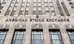 American stock exchange - AMEX - stock photo