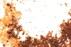 crumbled cookies - stock photo