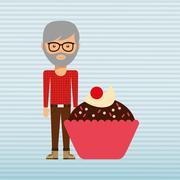 person party celebration - stock illustration