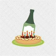 party celebration design - stock illustration