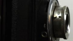 Retro Vintage Camera - stock footage