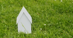 New Home Concept Stock Footage