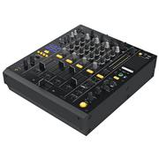 Digital dj mixer music Stock Illustration