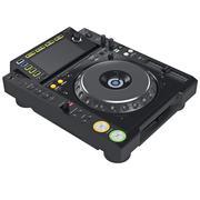 Digital dj mixer music equipment - stock illustration