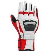 Skiing sports glove isolated, front view - stock illustration