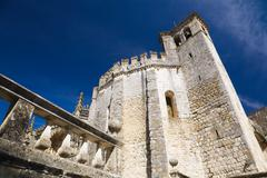 Convent of the Order of Christ, Tomar, Portugal - stock photo