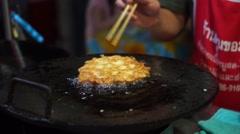 Tempura, Street Food, Thailand Stock Footage