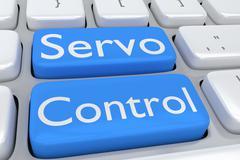 Servo Control concept Stock Illustration