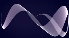 abstract line animation motion background loop blue white - stock footage