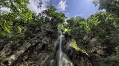 Waterfalls HDR time-lapse, natural concept, tranquility, eco, ecology, peaceful - stock footage