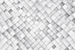 Abstract background made of cubes. 3d illustration Stock Illustration