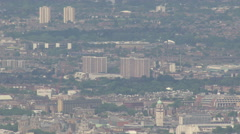 Greater London Big Zoom Out Aerial Stock Footage