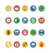 Electronics Icons Collection Stock Illustration