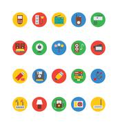 Electronics Vector Icons Set Piirros
