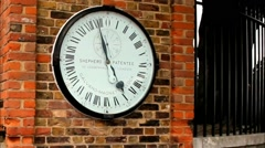 Greenwich 24 Hour Clock  British standards and measures of length Stock Footage