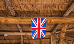 Great Britain Flag - stock photo