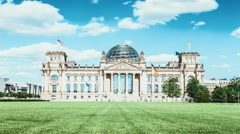 Bundestag at Berlin, Germany Stock Footage
