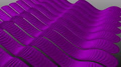 Wavy Purple Stripes Sine. Stock Footage