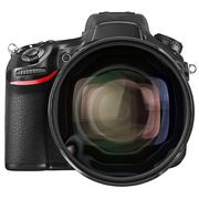 Objective lens camera, front view Stock Illustration