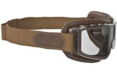 Goggles with strap - stock illustration