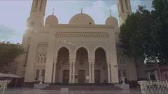 Dubai mosque  - stock footage