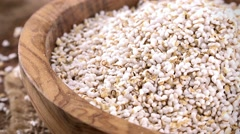 Puffed Amaranth (not loopable; 4K) Stock Footage