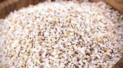 Amaranth (puffed; not loopable; 4K) Stock Footage