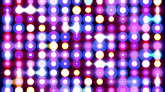 Colorful sparkling disco wall. Stock Footage