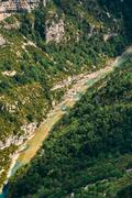 Landscape Of The Gorges Du Verdon In South-eastern France. Prove - stock photo