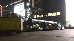 Working Workshop Of Repair Factory Stock Footage