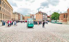 Cathedral Square of Riga, Latvia Stock Photos