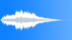 Big earthmover driving away - sound effect