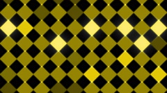 flashing gold squares and black background, loop - stock footage