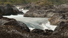 Petrohue river in Chile Stock Footage