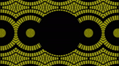 flashing gold squares and black background, frame, loop - stock footage
