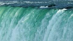 Niagara Falls view close up - stock footage