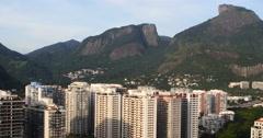 Barra da Tijuca, newly developed borough. Rio de Janeiro, Brazil. - stock footage