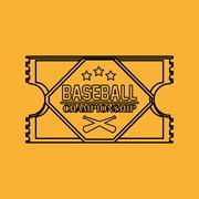 Travel design. sport icon. Isolated image - stock illustration