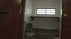Interior Jail Cell Stock Footage