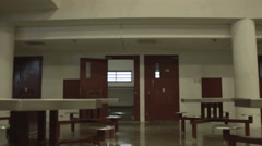Exterior of Jail Cell Stock Footage