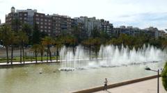 Palau de la Musica de Valencia Stock Footage
