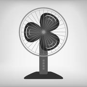 Vector electric fan Stock Illustration